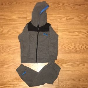 Puma set toddler 4t boys